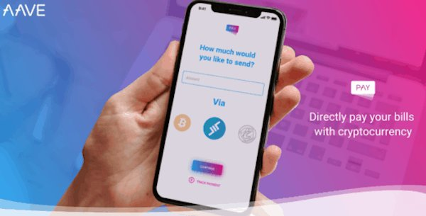 Pay Bills With Cryptocurrency Through Bank Transfers with Aave